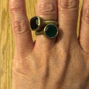 Anthroplogie vintage stackable rings